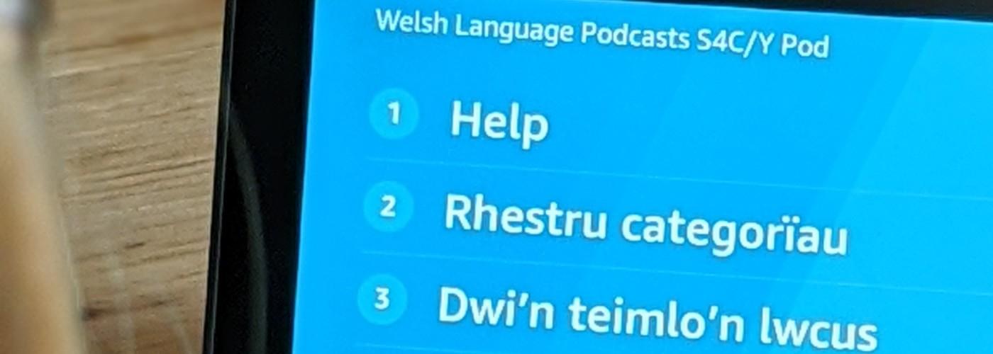Y Pod - Welsh Language Podcast Alexa Skill