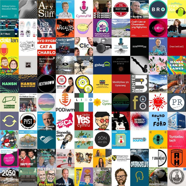 130 Welsh language podcasts now exist within Y Pod.