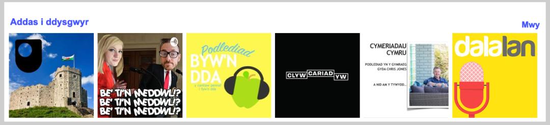 Podlediadau Cymraeg i Ddysgwyr / Podcasts for Welsh learners