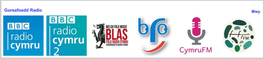 Gorsafodd radio Cymraeg ar Y Pod