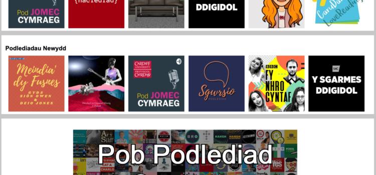 Y Pod - Datblygiadau Newydd